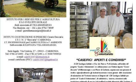 Villamassargia – Caseifici Aperti e Condivisi
