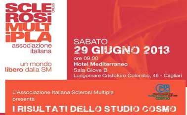 Cagliari – AISM, i risultati dello studio Cosmo