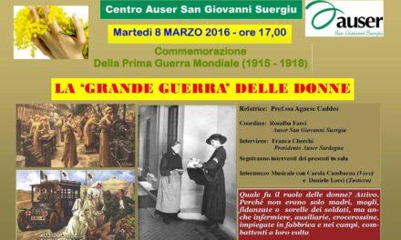 San Giovanni Suergiu – La Grande Guerra delle Donne