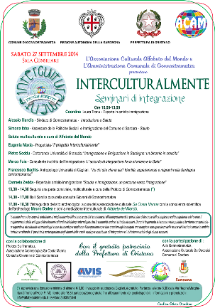 Gonnostramatza – Interculturalmente