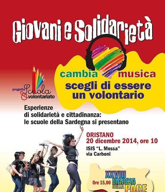 Scuola e Volontariato: Cambia Musica! Scegli di essere un Volontario!