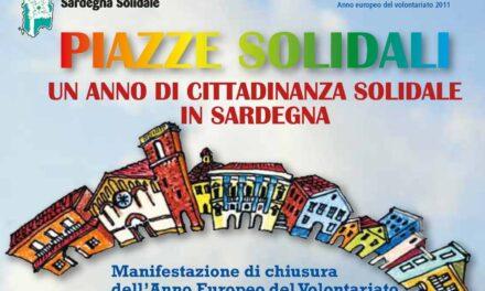 Piazze Solidali – Il 10 dicembre a Cagliari il raduno del volontariato sardo
