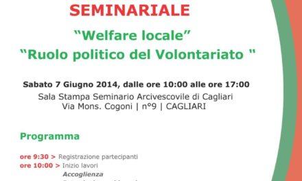 Cagliari – Welfare locale – Ruolo politico del Volontariato