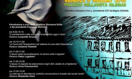 "Iglesias – Conferenza Regionale ""Le Dipendenze Rimosse"""