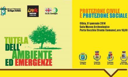 Olbia – Tutela dell'Ambiente ed Emergenze. Protezione Civile e Protezione Sociale