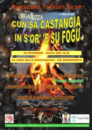 Burcei – Cun sa castangia in s'or' 'e su fogu