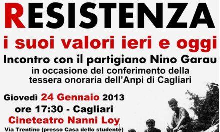 Cagliari – Resistenza: i suoi valori ieri e oggi