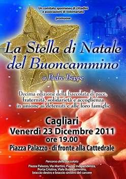 Cagliari – La Stella di Natale del Buoncammino