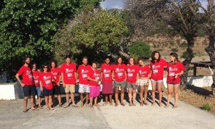 Tgr Sardegna sul campo di E!State Liberi in corso all'Asinara