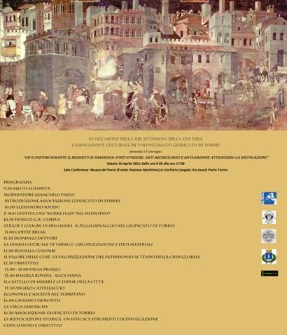 Porto Torres – Usi e costumi nel Medioevo in Sardegna