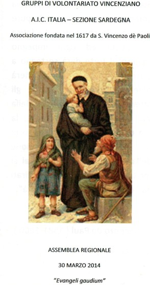 Cuglieri – Evangeli gaudium – Assemblea Regionale Gruppi di Volontariato Vincenziano