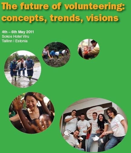 Tallin (Estonia) – The future of volunteering: concepts, trends, visions