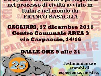 Cagliari – Salute mentale e diritti. I 25 anni dell'ASARP