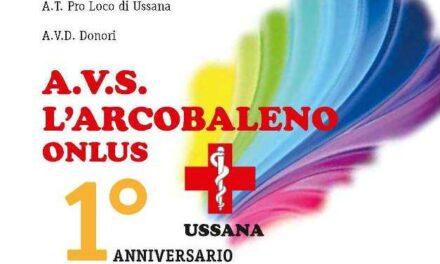 Ussana – Primo anniversario Associazione L'Arcobaleno