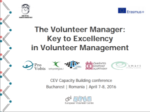 The Volunteer Manager: Key For Excellency in Volunteer Management