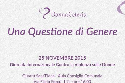Quartu S.Elena – Una questione di genere
