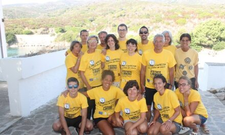 Cala d'Oliva (Asinara) – Concluso il secondo campo 2014 E!state Liberi!