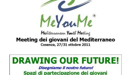 Cosenza – MeYouMe – Meeting dei giovani del Mediterraneo