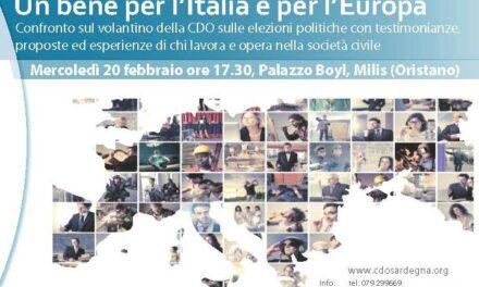 Milis – Un bene per l'Italia e per l'Europa
