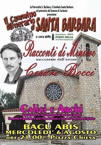 Bacu Abis – Presentazione del Cammino Minerario di Santa Barbara