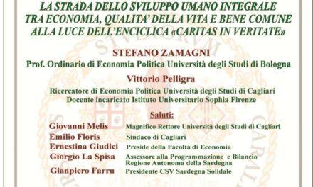 Cagliari – Incontro con il prof. Stefano Zamagni