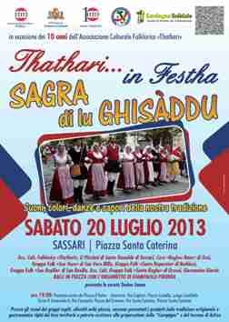 Sassari – Thathari in festa – Sagra di lu Ghisaddu