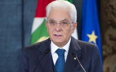 """Il Presidente Mattarella ai volontari: """"Fate parte dell'Italia migliore"""""""