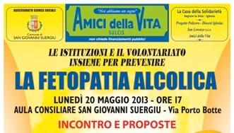 San Giovanni Suergiu – Fetopatia Alcolica