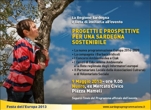 Abbasanta-Nuoro-Cagliari – Festa dell'Europa