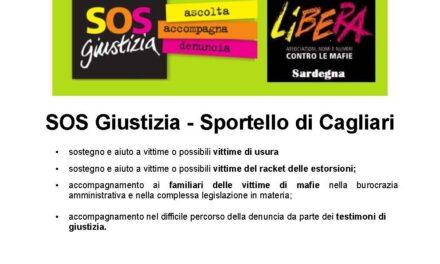 SOS Giustizia: apertura e riferimenti Sportello di Cagliari