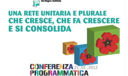 Ala Birdi (OR), 21 gennaio 2012 – Conferenza Programmatica CSV Sardegna Solidale