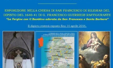 Iglesias – Esposizione nella Chiesa di San Francesco