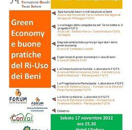 Green Economy e buone pratiche del Ri-Uso dei Beni