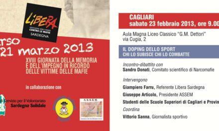 Cagliari – LO SPORT DEL DOPING