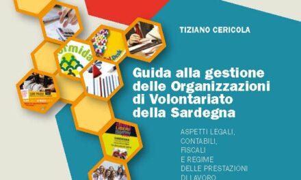 """Pubblicata la """"Guida alla gestione delle Organizzazioni di Volontariato della Sardegna"""""""