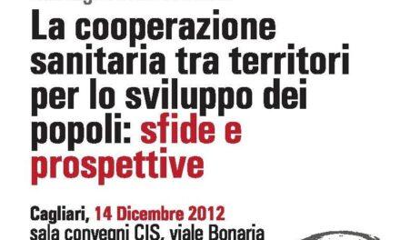 Cagliari – La cooperazione sanitaria tra territori per lo sviluppo dei popoli