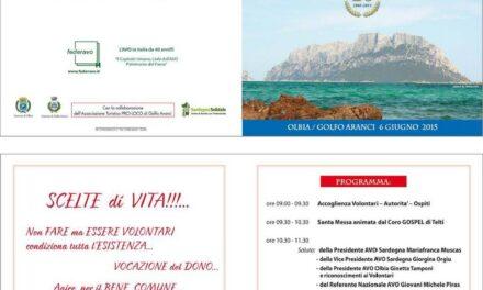 Golfo Aranci – L'Avo festeggia i suoi primi 10 anni al servizio dei malati