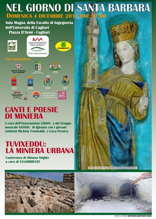 Cagliari – Nel giorno di Santa Barbara