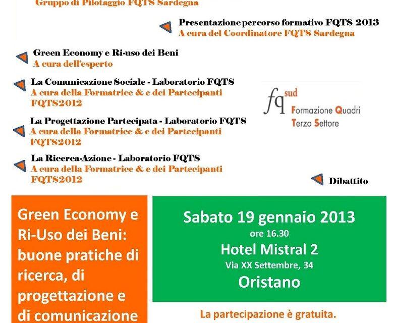 Oristano – Green economy e riuso di beni