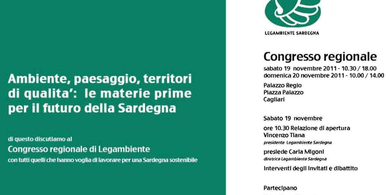 Cagliari – Congresso regionale Legambiente