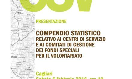 Cagliari – Presentazione Compendio Statistico CoGe-CSV