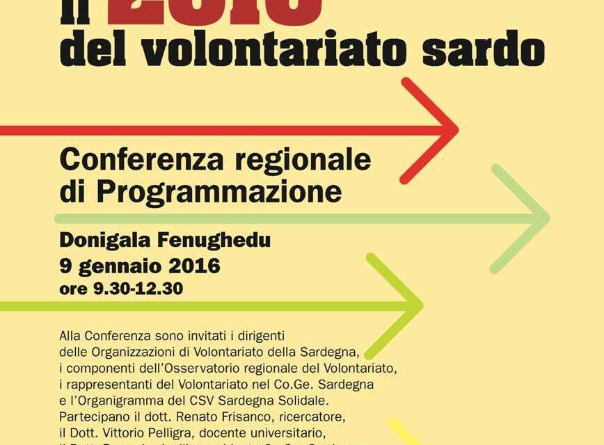 Donigala F. (OR) – Il 2016 del Volontariato Sardo