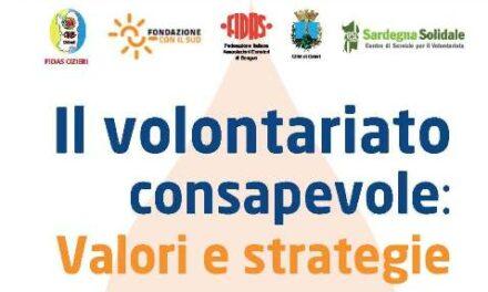 Ozieri – Il Volontariato consapevole: valori e strategie