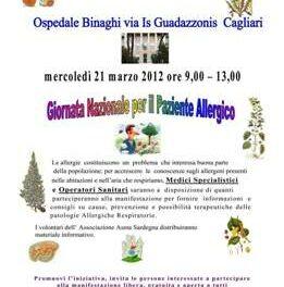 Cagliari – Giornata nazionale per il paziente allergico