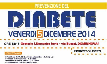 Domusnovas – Prevenzione del Diabete