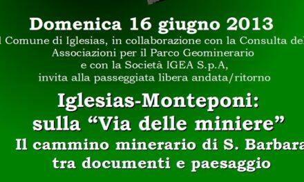 """Iglesias-Monteponi – Sulla """"Via della Miniera"""""""