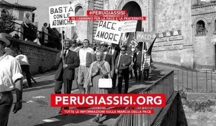 Perugia-Assisi: Rinnoviamo il nostro impegno per la Pace