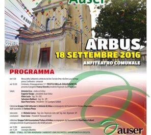 Arbus – 15° Festa della Solidarietà Auser