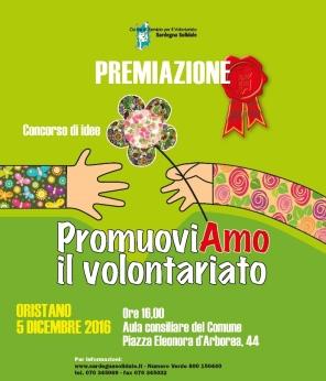 """Giornata Internazionale del Volontariato. Premiazione Concorso Idee """"PromuoviAmo il Volontariato"""""""