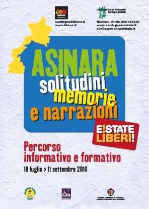 """Cala d'Oliva (Asinara) – 2° Campo di impegno e formazione """"E!state Liberi!"""""""